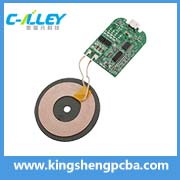 Round-shape Wireless Charger PCBA Board