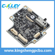 Electronic printed circuit board with FR4 base material shenzhen pcba maker