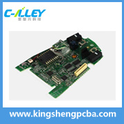 ENIG single sided led pcb printed circuit board prototype fabrication service